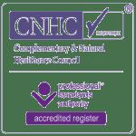 CNHC accreditation certificate